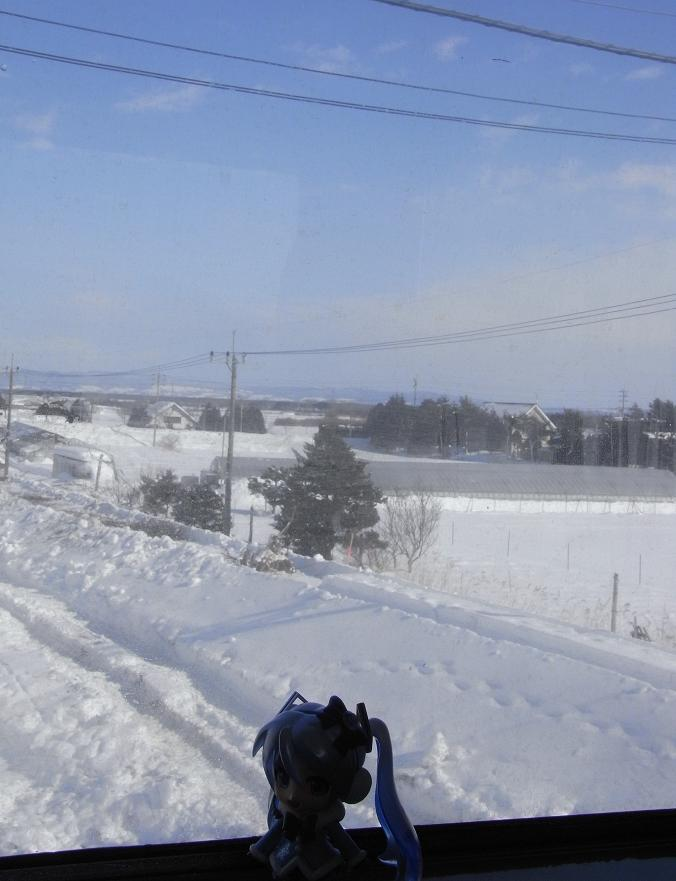 さらば北海道…