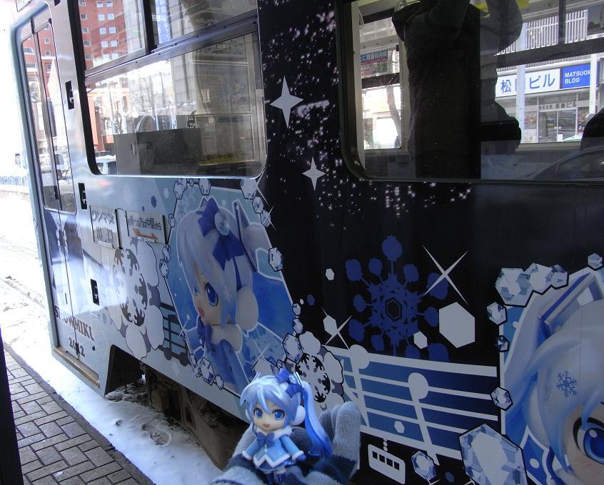 雪ミク電車側面3