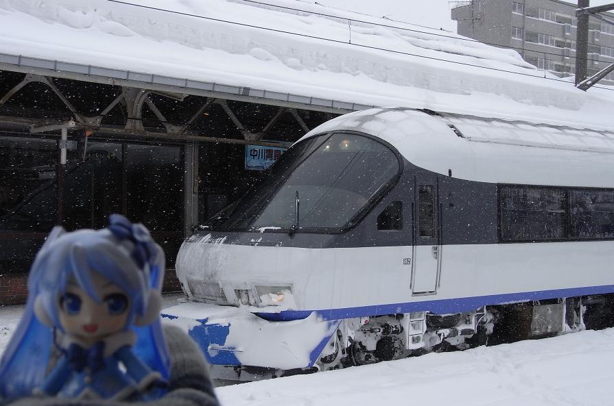 小樽駅にて1