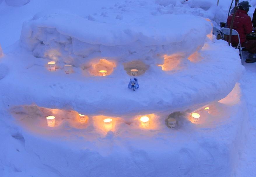 雪あかり路8