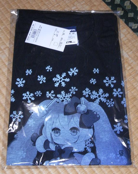 雪ミクTシャツぷちでびるVer