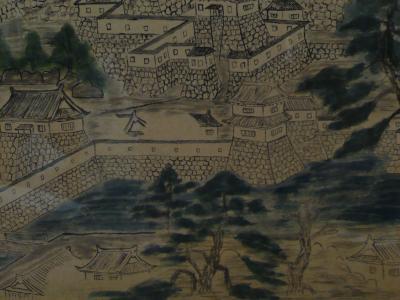 福山城 堀