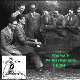 Waring's Pennsylvanians Clare Hanlon(You Forgot your Gloves)