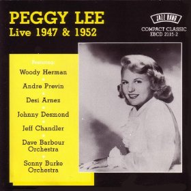 Peggy Lee(Indiana (Back Home Again in Indiana))