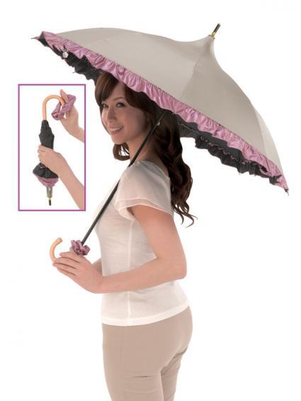 「遮熱・涼感 パゴダ傘」
