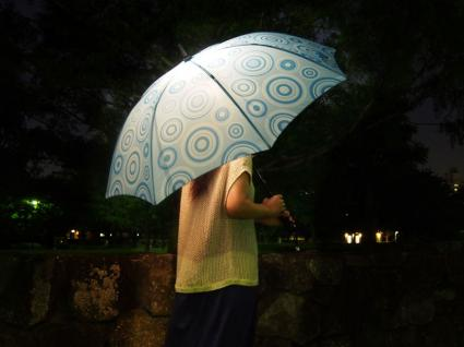 「光るファッション傘 ブライトナイト」