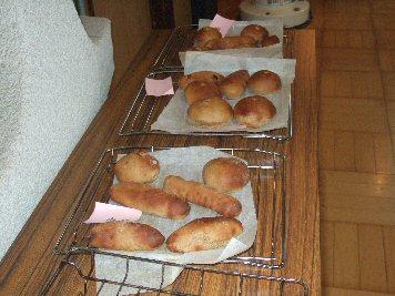 パン作り できあがり~