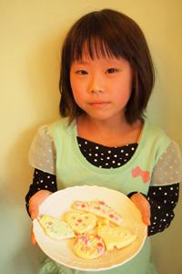 子供が楽しむアイシングクッキー