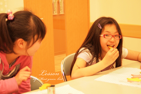 ららぽーと甲子園子供クッキーレッスン