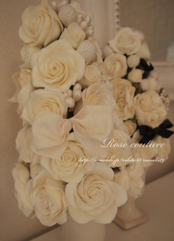 大阪クレイクラフトの花教室RoseCoutre