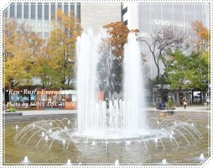 大通り公園~噴水