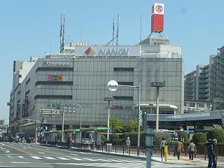 堺東駅晴れ