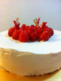 いちごショートクリスマスケーキ