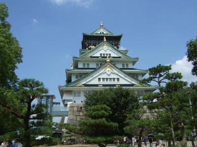 大阪城 きれいやわ~