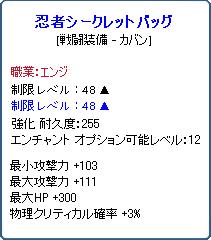 忍者シークレットバッグ1