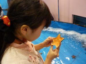 青い海の水族館34
