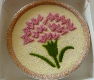 母の日チーズケーキ2