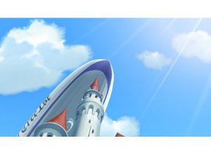 コナン天空の難波船