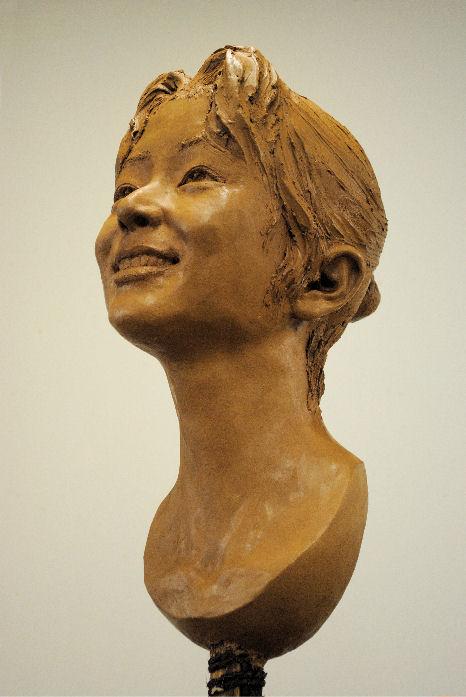 明星大学生涯学習講座「首像途中」⑤ 松田光司作