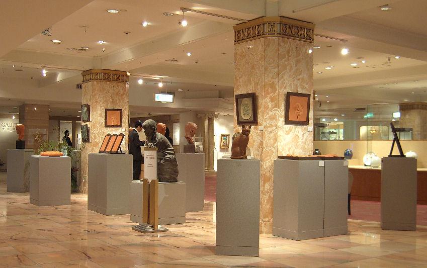 第2回日本橋三越個展 2007年 撮影 松田光司