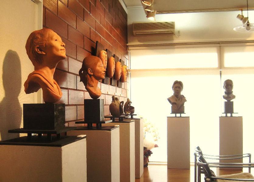 2009年シエール個展会場 撮影 松田光司
