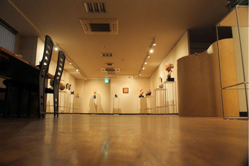 ギャラリー渓個展会場 撮影 松田光司