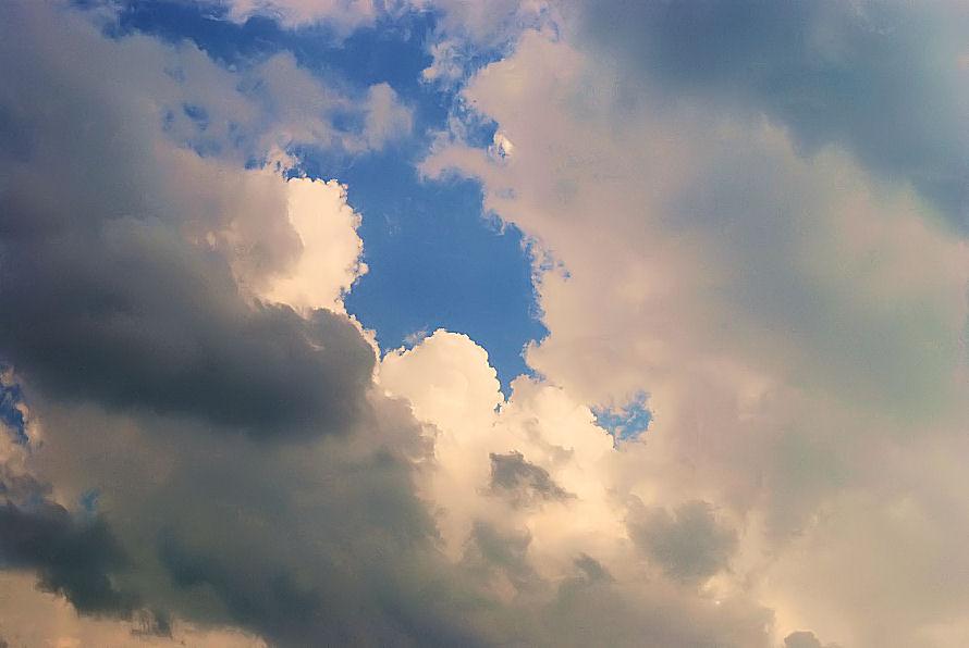 夏の雲 撮影 松田光司