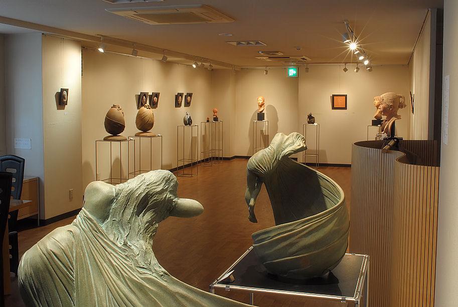 松田光司個展(ギャラリー渓、09) 撮影 松田光司