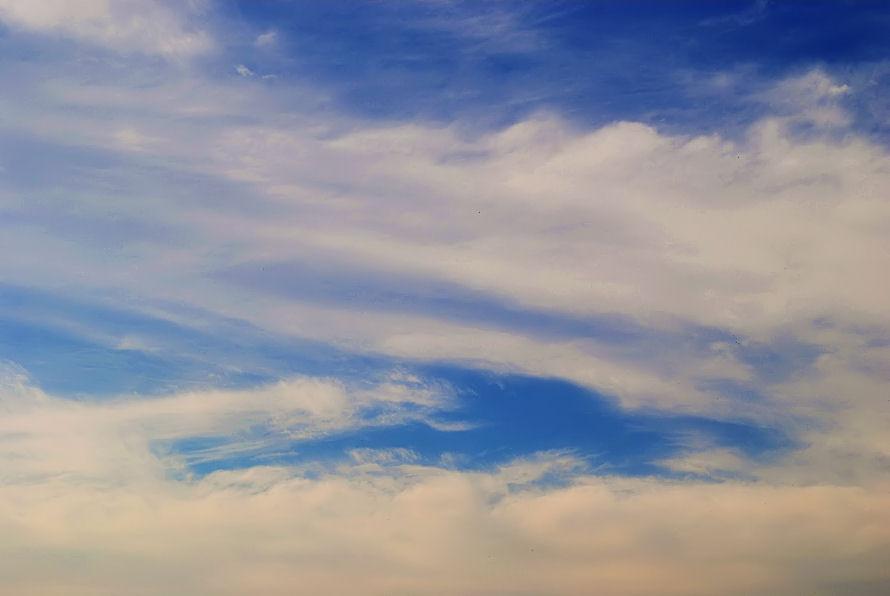 ある日の雲 撮影 松田光司