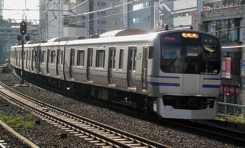 横クラE217系「Y-21」編成(2013年11月24日・五反田駅)