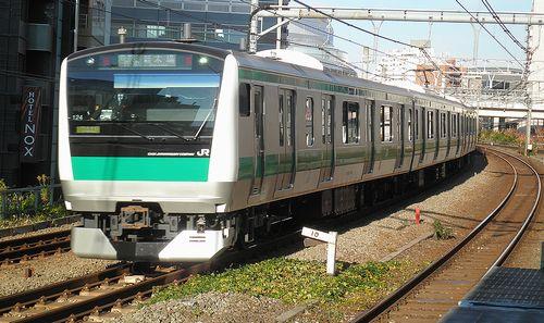 宮ハエE233系「124」編成(2013年11月24日・五反田駅)