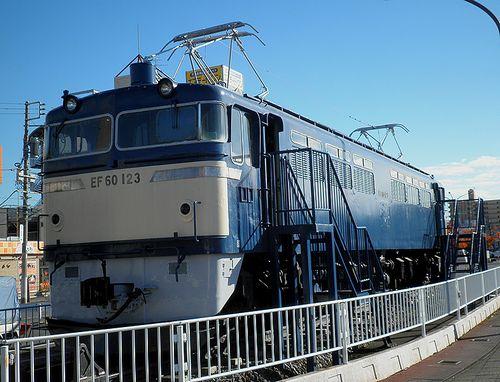 EF60 123(足利駅前・2013年11月26日)(1)