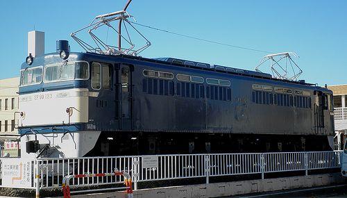 EF60 123(足利駅前・2013年11月26日) (3)