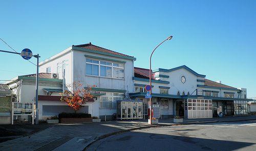 両毛線足利駅・駅舎(2013年11月26日)