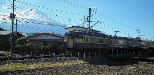 八トタ115系「M1」編成(2013年11月30日・富士急行寿~葭池温泉前間)1