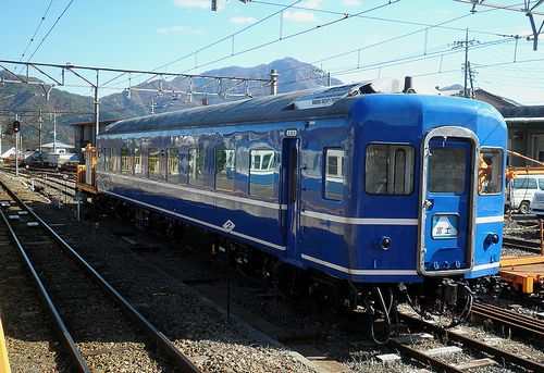 スハネフ14 20(富士急行下吉田駅・2013年11月30日)1