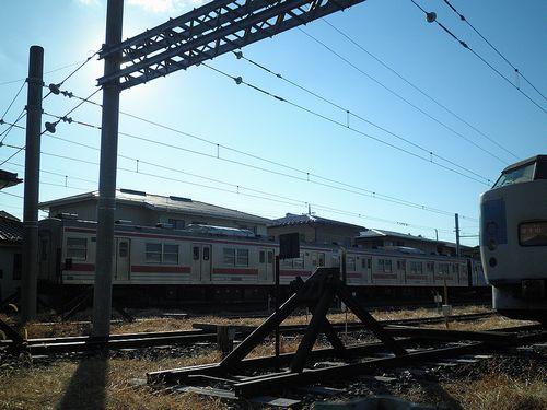 元・千ケヨ205系(部品取り用)(2013年11月30日・河口湖駅)