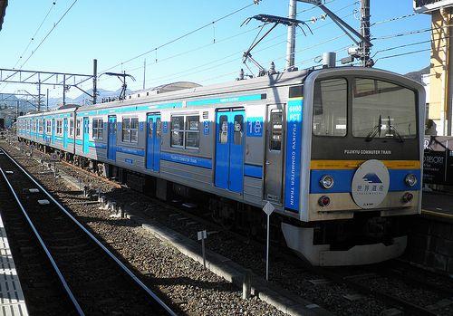 富士急行6000系・6051編成「特急」(2013年11月30日・富士山駅)