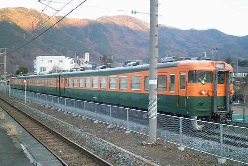 しなの鉄道165系「S52」編成(2013年12月1日・坂城駅) 3