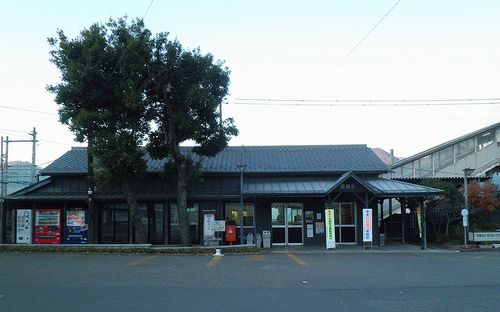しなの鉄道坂城駅(2013年12月1日)
