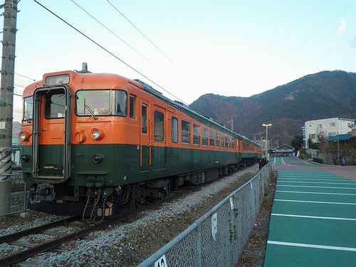 しなの鉄道165系「S52」編成(2013年12月1日・坂城駅) 2