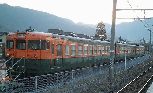 しなの鉄道165系「S52」編成(2013年12月1日・坂城駅) 1