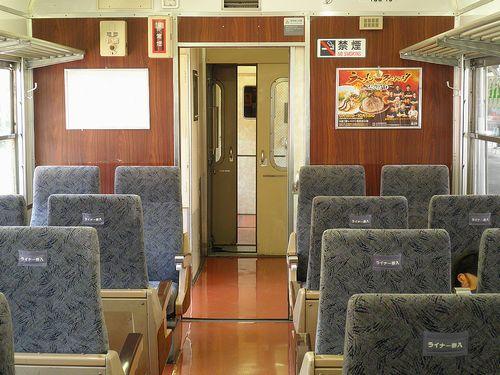 しなの鉄道169系「S52」編成車内(2010年9月25日)