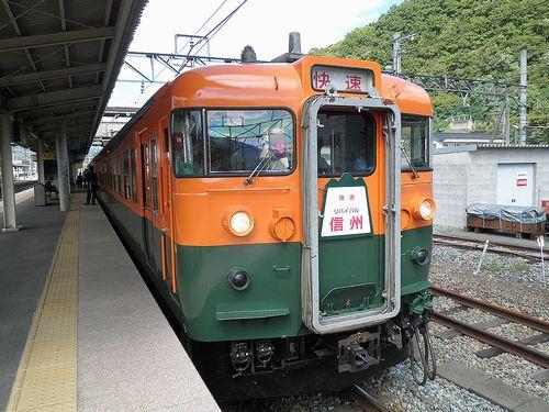 しなの鉄道169系「S52」編成「リバイバル信州号」(2010年9月25日・屋代駅)