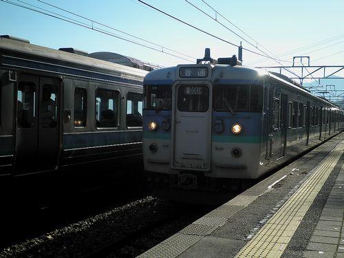 長ナノ115系「N14」編成(2013年12月1日・姨捨駅)