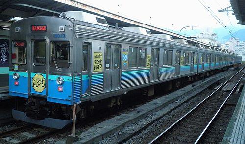 伊豆急行8000系「TA-3」編成(2011年8月10日・熱海駅)