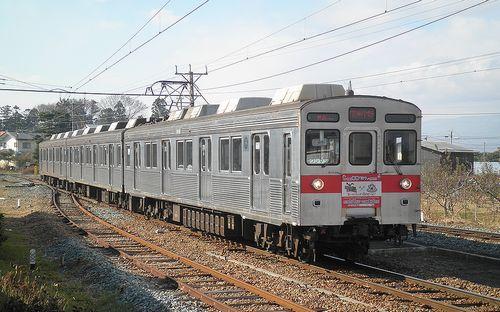 長野電鉄8500系「T3」編成(2013年12月1日・小布施駅)