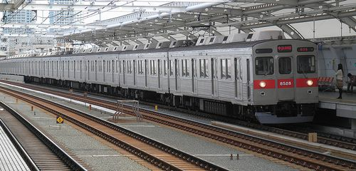 東急8500系・8628F(2012年10月12日・高津駅)