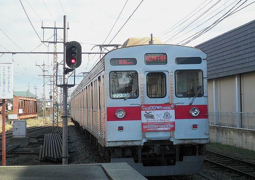 長野電鉄8500系「T5」編成(2013年12月1日・小布施駅)