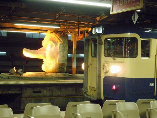 八トタ115系「M8」編成(2013年12月1日・高尾駅)
